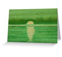Intracoastal original painting Greeting Card