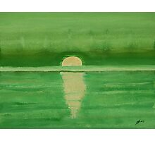 Intracoastal original painting Photographic Print
