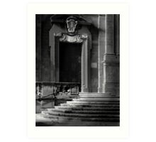 Ecclesiastic Side-Door Art Print