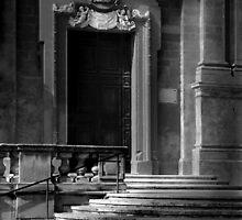 Ecclesiastic Side-Door by Edwin  Catania