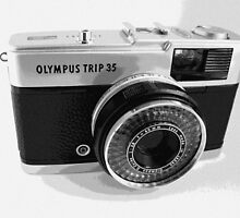 Olympus Trip 35 Classic Camera Early Model by Tripman