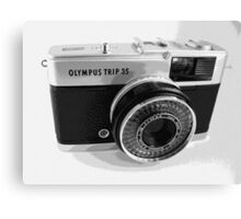 Olympus Trip 35 Classic Camera Early Model Canvas Print