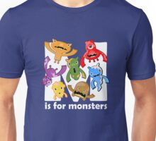 M is for Monsters! Unisex T-Shirt