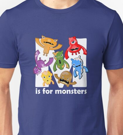 M is for Monsters! T-Shirt