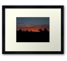 Irish sunrise Framed Print