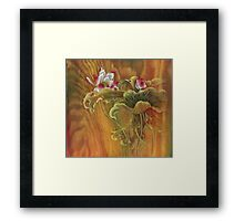 """Mother and Child"" from the series ""In the Lotusland"" Framed Print"