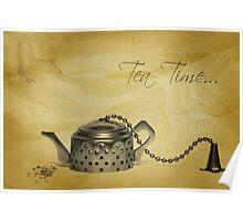 Tea Time... Poster