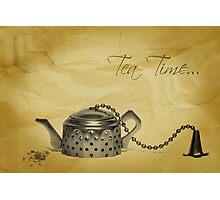 Tea Time... Photographic Print