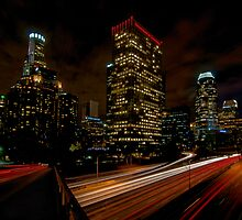 Los Angeles By Night by gfydad