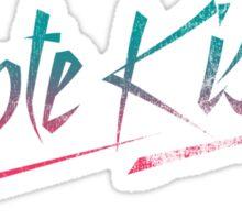 Coyote Kisses Sticker