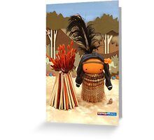 CHUNKIE Indian Greeting Card