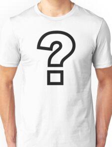 Question mark Unisex T-Shirt