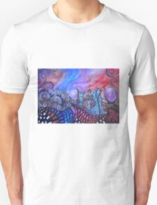 Find Me In The Land Of Lost Time By Sherry Arthur Unisex T-Shirt