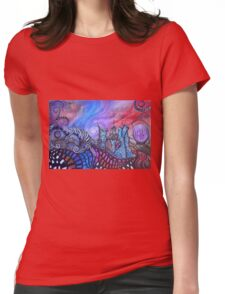 Find Me In The Land Of Lost Time By Sherry Arthur Womens Fitted T-Shirt