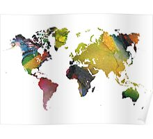 New world map Poster