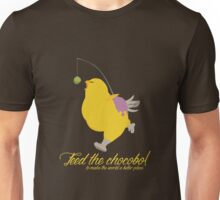 Feed the chocobo! Unisex T-Shirt