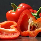 Red Capsicum by Adam Evans