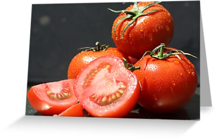 Fresh Tomatoes by Adam Evans