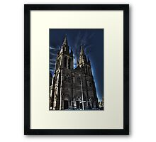 HDR st peters cathedral Framed Print