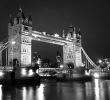 tower bridge bw by jon  daly