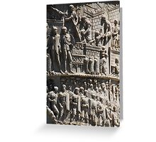 History Engraved Greeting Card