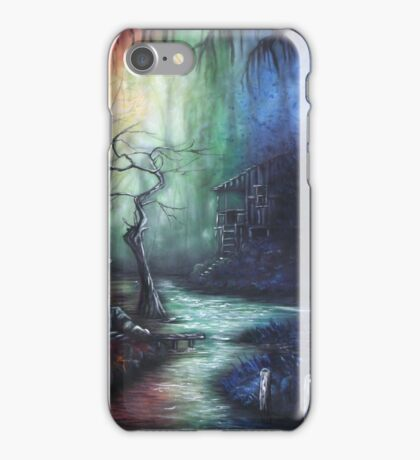 Colorful Days Down In The Bayou iPhone Case/Skin