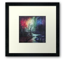 Colorful Days Down In The Bayou Framed Print