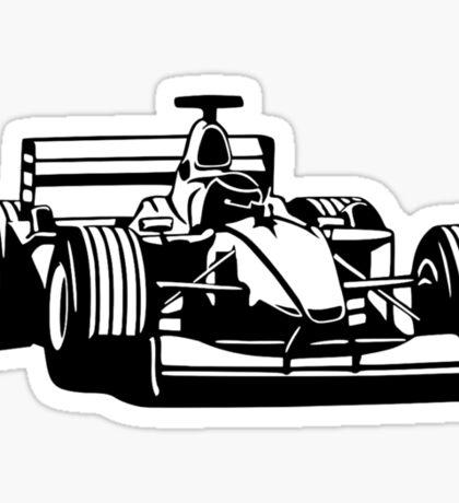 Race car Sticker