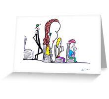da bus Greeting Card