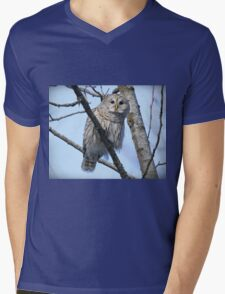 Who goes there? Mens V-Neck T-Shirt
