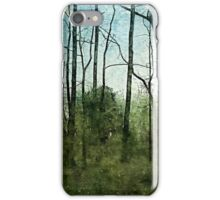 Forest rain iPhone Case/Skin