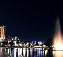 adelaide by night by Cale Bowick