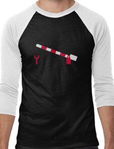 Railway gate Men's Baseball ¾ T-Shirt