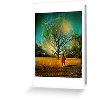 BubbleTree Greeting Card