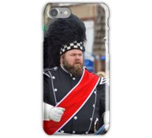 St. Patrick's Day Parade - Pipe Band Drum Major | Center Moriches, New York  iPhone Case/Skin
