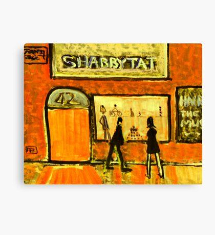 Shabbytat Canvas Print