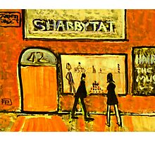 Shabbytat Photographic Print