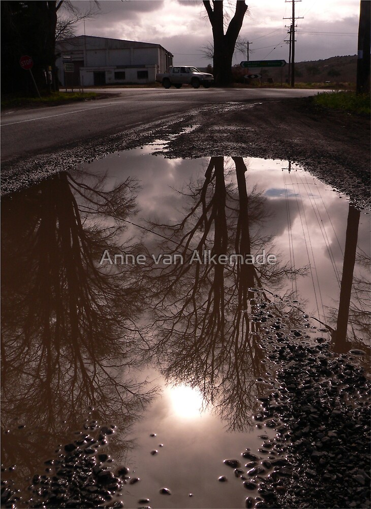 In another world by Anne van Alkemade