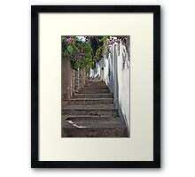 Primavera A Capri Framed Print