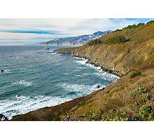 Rugged coastline Big Sur California  Photographic Print