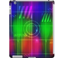 Colorful Abstract Pattern with Futuristic Sci Fi Effects. iPad Case/Skin