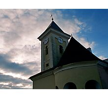And old Ukrainian church Photographic Print