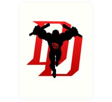 Just Daredevil Art Print