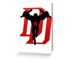 Just Daredevil Greeting Card