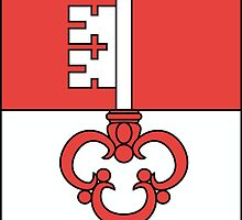 Flag of Obwalden Canton  by abbeyz71