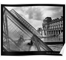 Musée du Louvre, Paris Poster