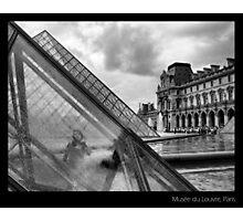 Musée du Louvre, Paris Photographic Print