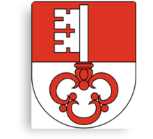 Coat of Arms of Obwalden Canton Canvas Print