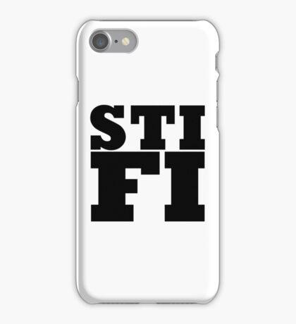 Sticky Fingers STIFI LOGO iPhone Case/Skin