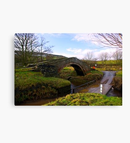 Duck Bridge Canvas Print